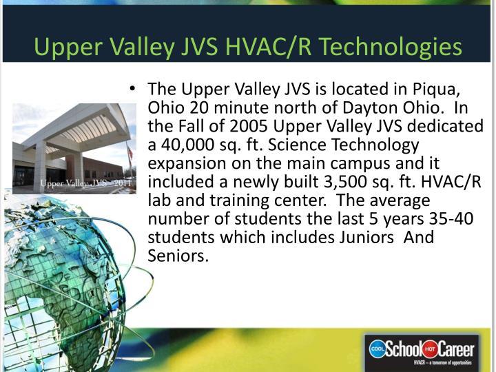 Upper Valley JVS HVAC/R Technologies