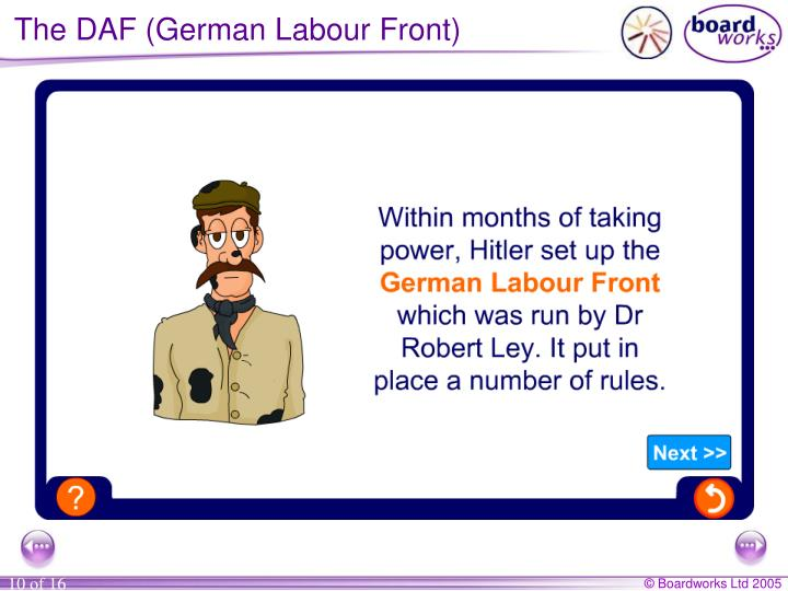 The DAF (German Labour Front)