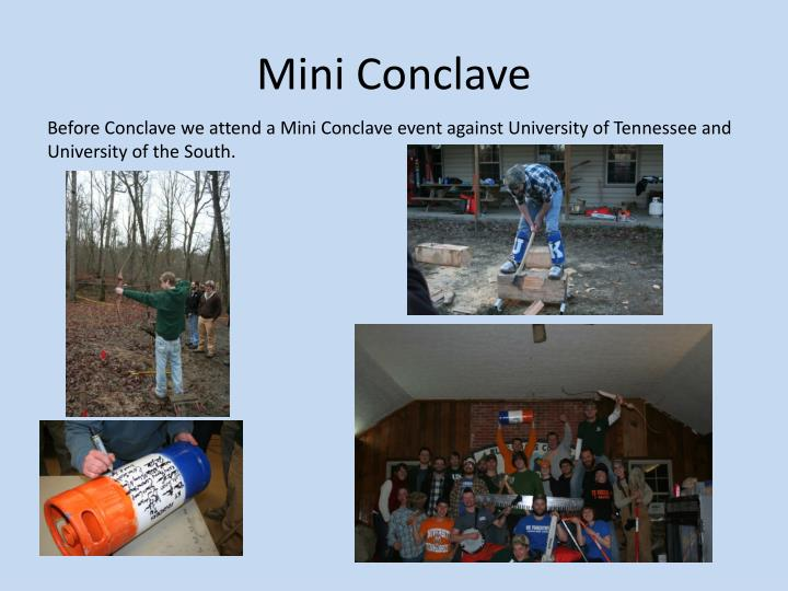 Mini Conclave