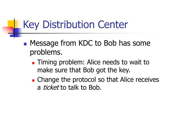 Key Distribution Center