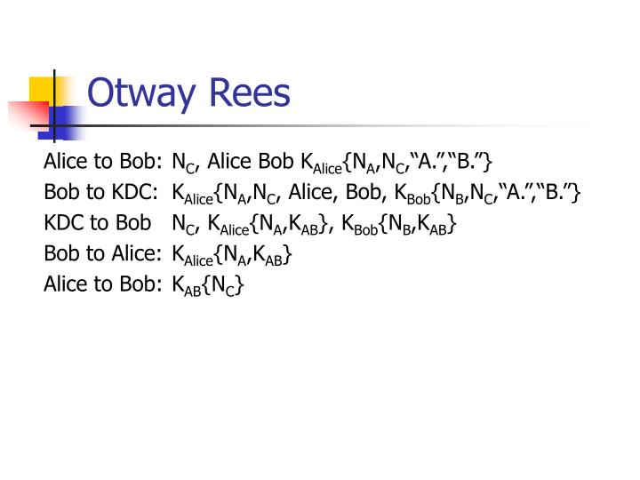 Otway Rees