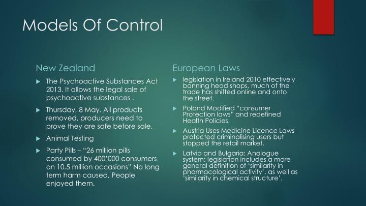 Models Of Control