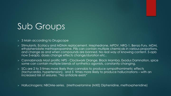 Sub Groups