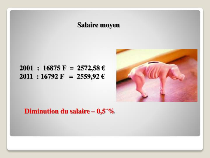Salaire moyen
