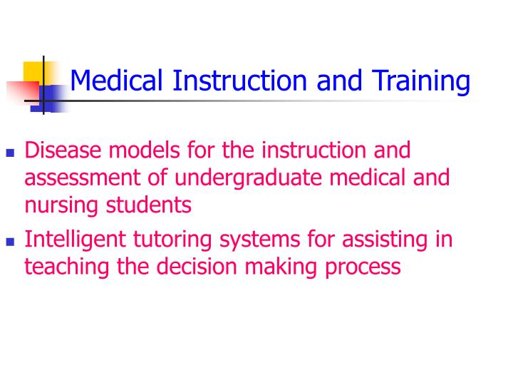 Medical Instruction and Training