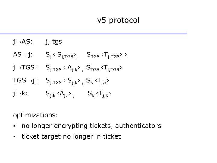 v5 protocol