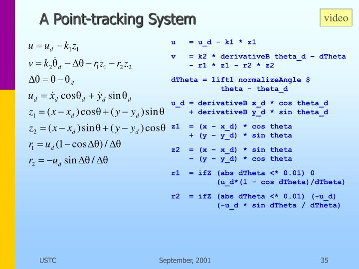 A Point-tracking System