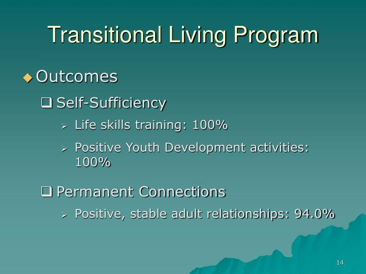 Transitional Living Program
