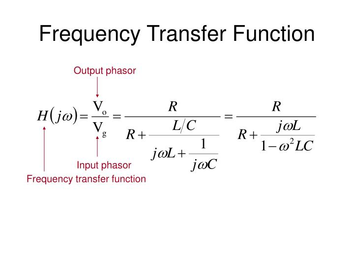 Frequency Transfer Function