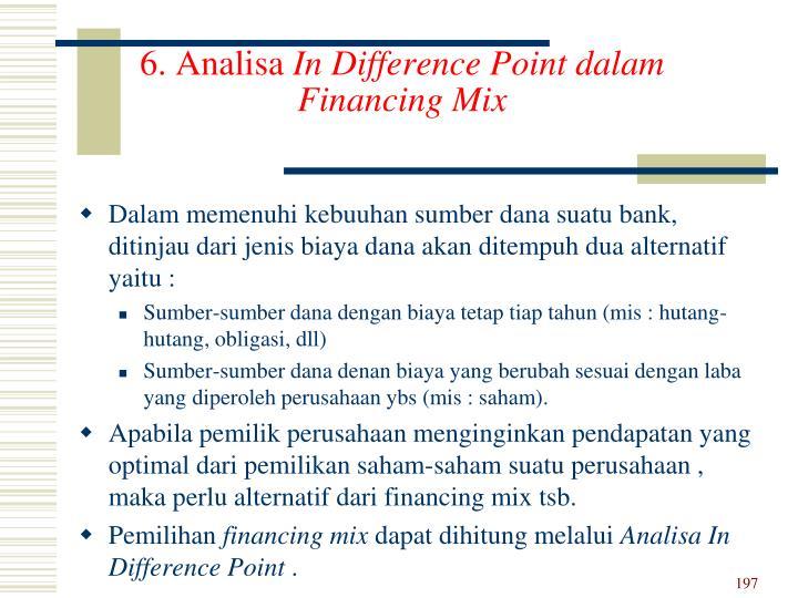 6. Analisa