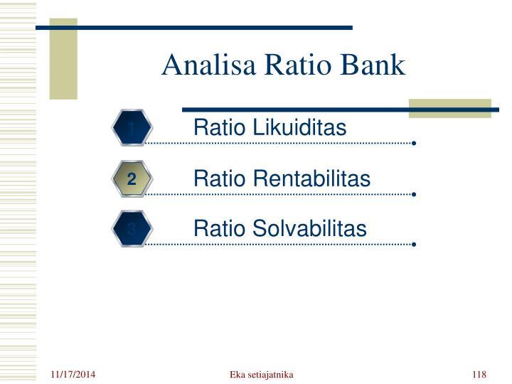 Analisa Ratio Bank