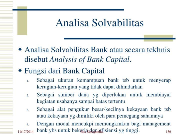 Analisa Solvabilitas