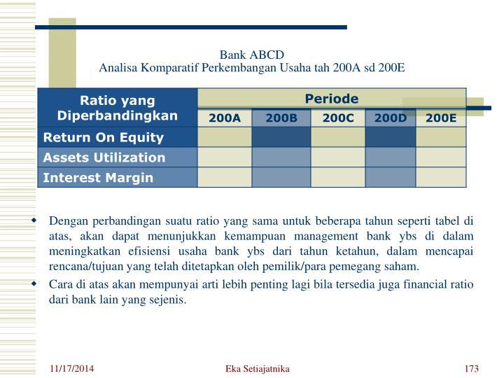 Bank ABCD