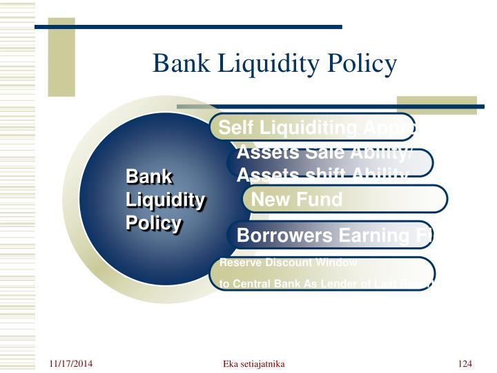 Bank Liquidity Policy