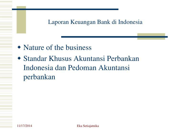 Laporan Keuangan Bank di Indonesia