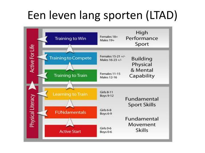 Een leven lang sporten (LTAD)