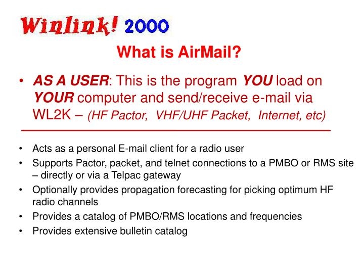 What is AirMail?