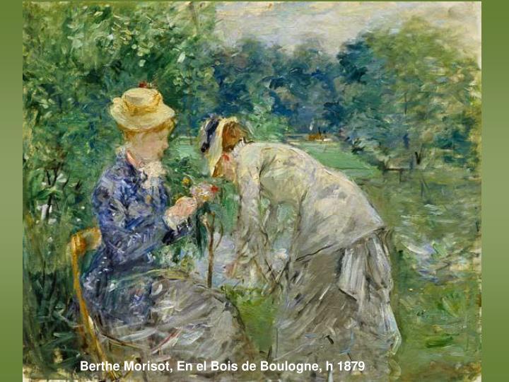 Berthe Morisot, En el Bois de Boulogne, h 1879