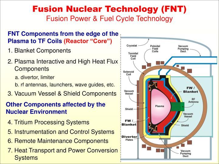 Fusion Nuclear Technology (FNT)