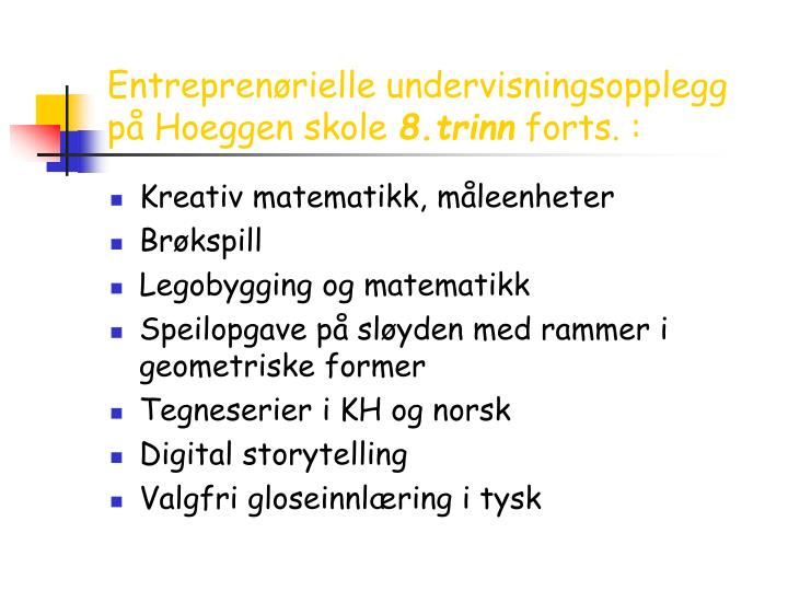 Entreprenørielle