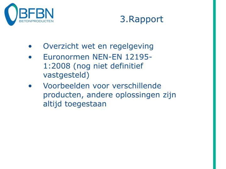 3.Rapport