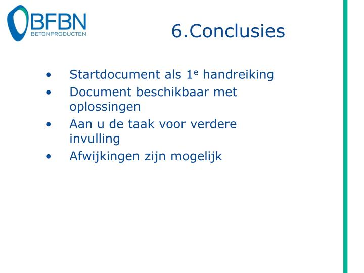 6.Conclusies