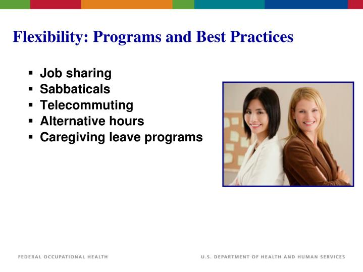 Flexibility: Programs and Best Practices