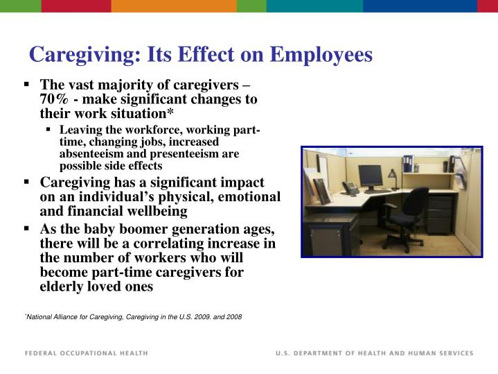 Caregiving: Its Effect on Employees