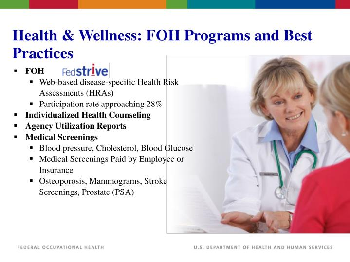 Health & Wellness: FOH Programs and Best Practices