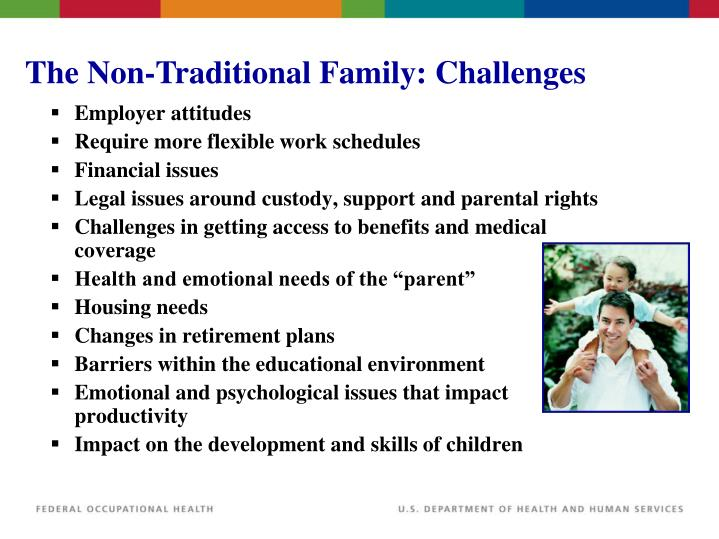 The Non-Traditional Family: Challenges