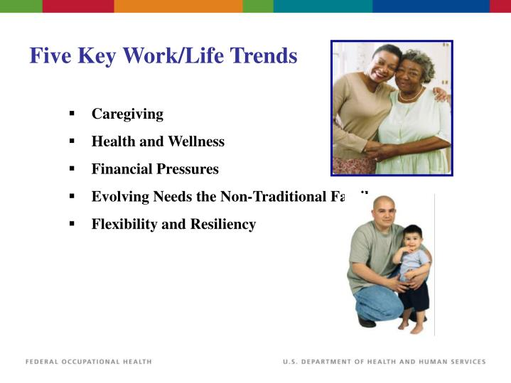 Five Key Work/Life Trends