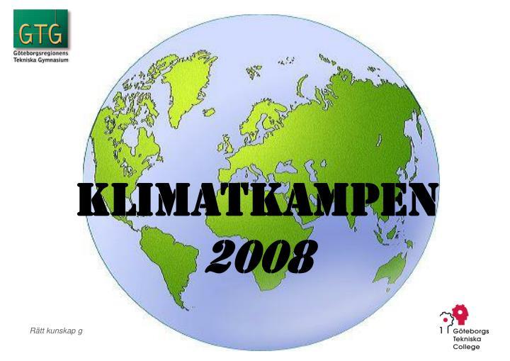 Klimatkampen