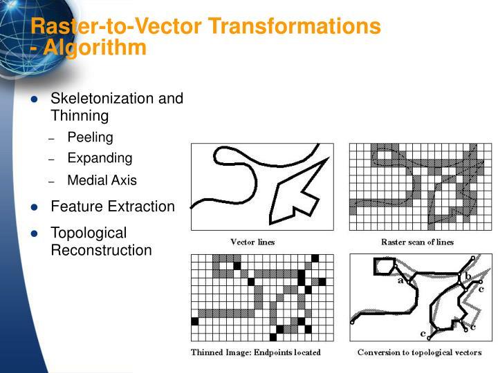 Skeletonization and Thinning