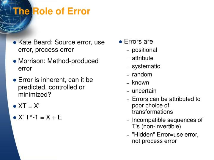 Kate Beard: Source error, use error, process error
