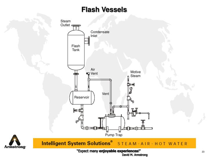Flash Vessels