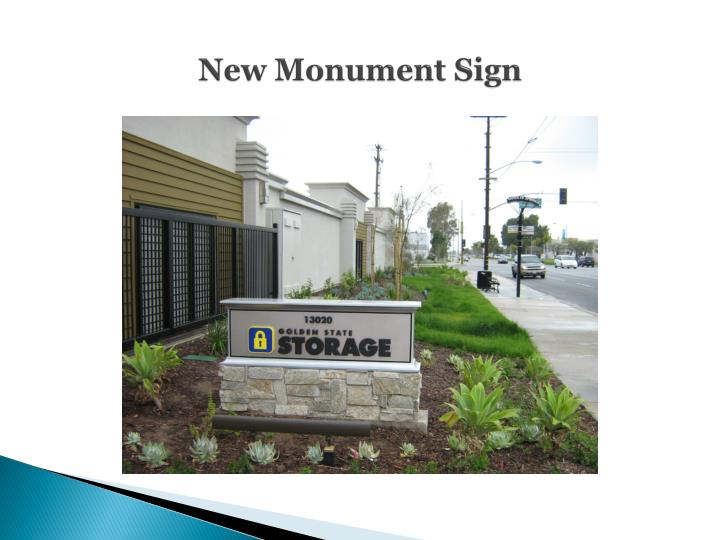 New Monument Sign