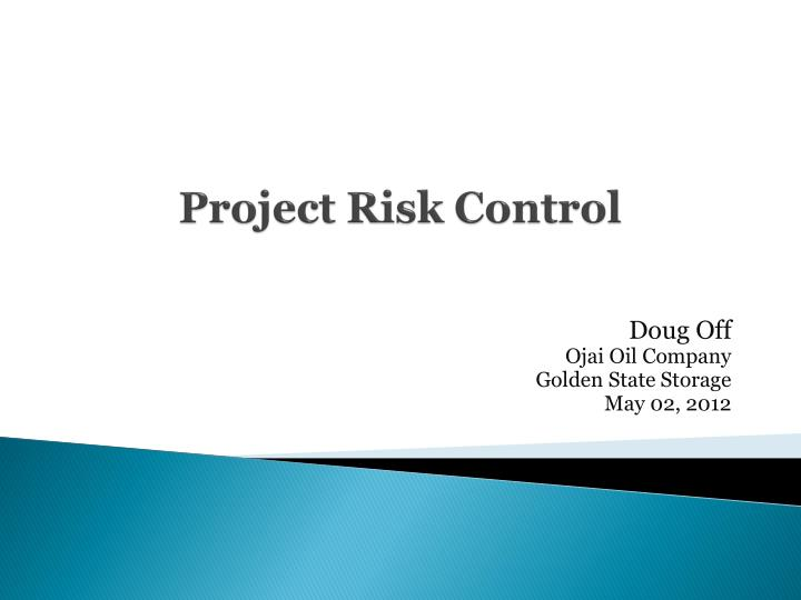 project risk control