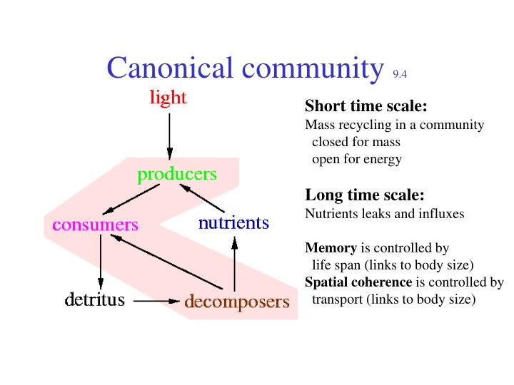 Canonical community