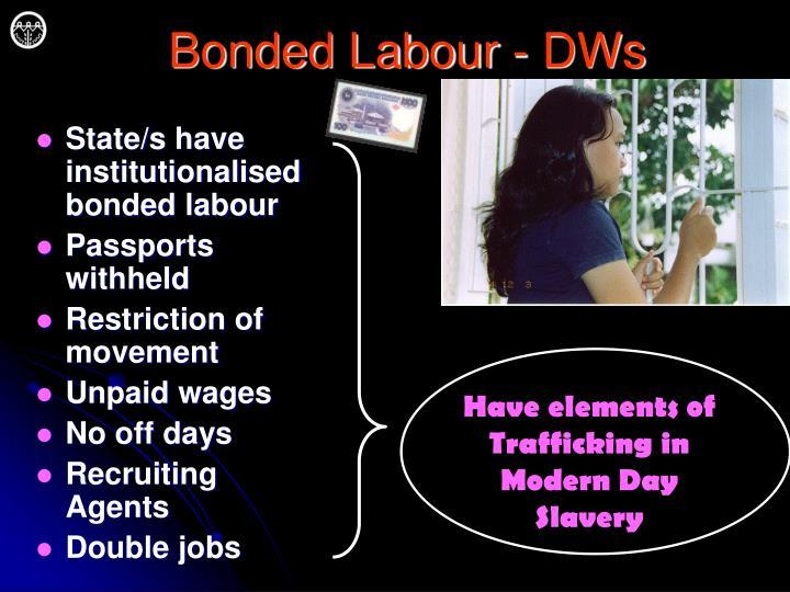 Bonded Labour - DWs