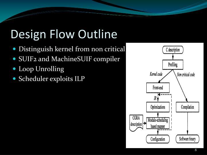 Design Flow Outline