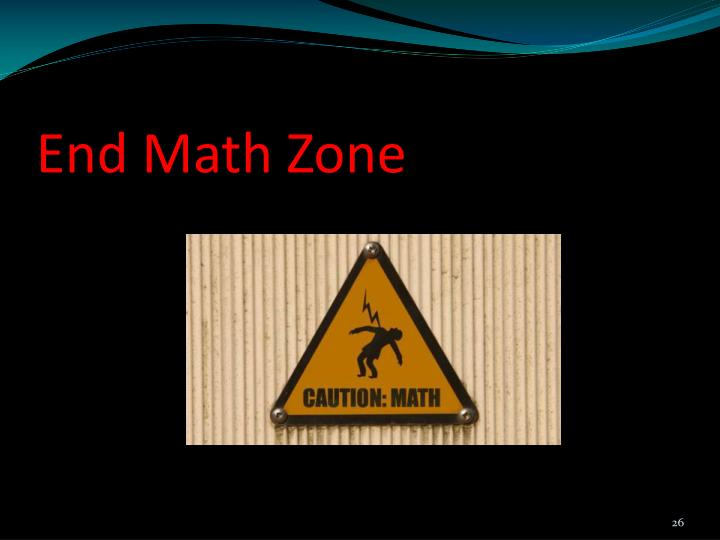 End Math Zone