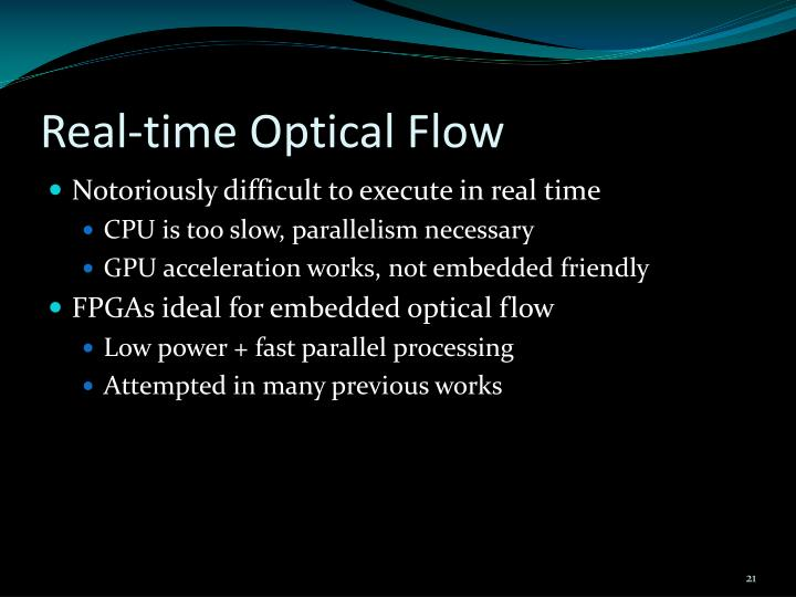 Real-time Optical Flow