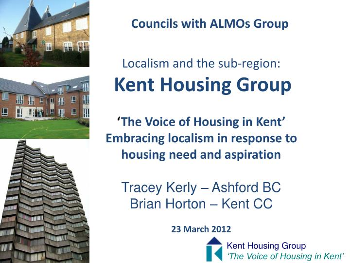 Councils with ALMOs Group