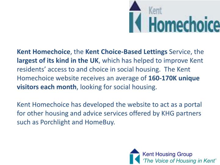 Kent Homechoice