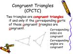 congruent triangles cpctc