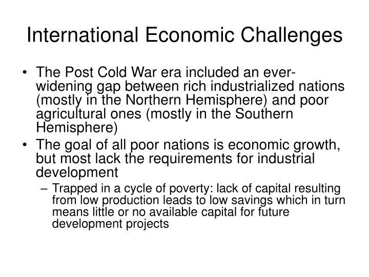 International Economic Challenges