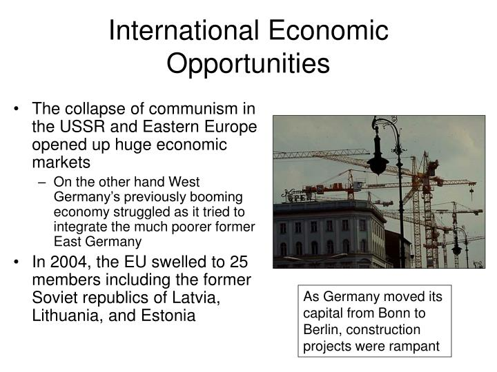 International Economic Opportunities