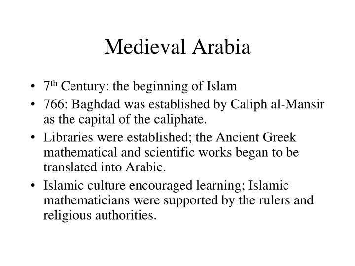 Medieval Arabia