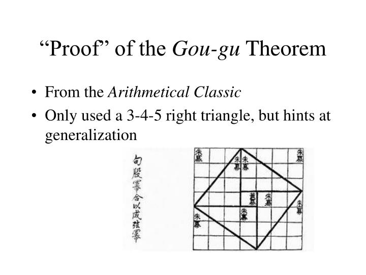 """""""Proof"""" of the"""