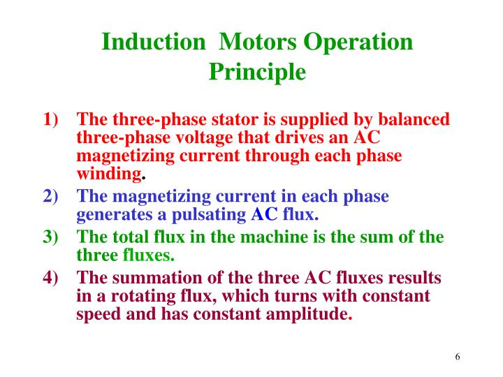 Induction  Motors Operation